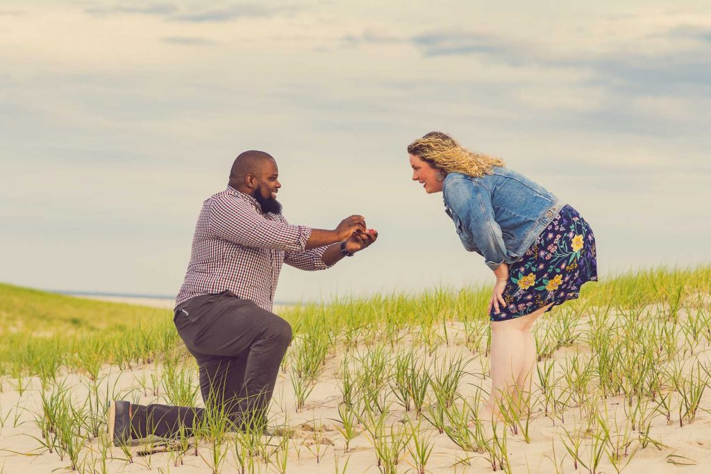 Image from a surprise proposal by Terrence Irving Photography | Ledyard, CT Portrait and Wedding Photographer.