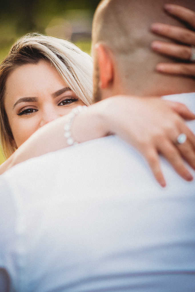 Harkness Memorial State Park engagement session