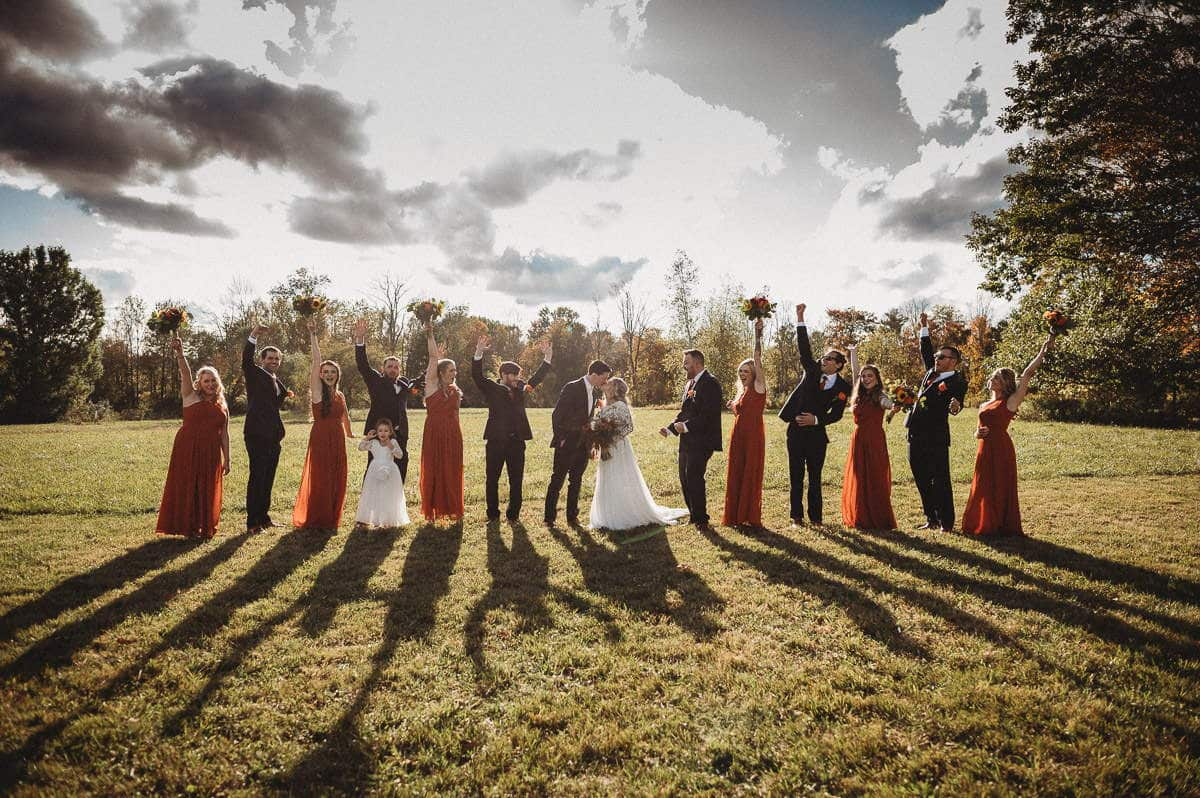 Tips for planning a backyard wedding from a Connecticut wedding photographer.