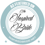 The Inspired Bride wedding blog badge, where Terrence Irving Photography has been featured.